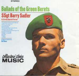 Ballad of the Green Berets CD Cover